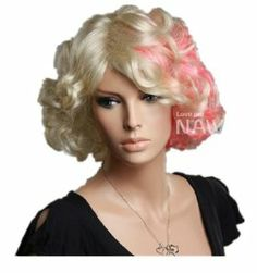 Ladies' Bob Short Curly Wigs For Women and Ladies Lace Wigs Hair Wigs Wigs Shop by GOOACTION. $24.99. Easy to care for and Wahs. Wash with normal shampoo in warm but not hot water. Shake off excessive water, wipe with a tower, and dry in air.; The size is adjustable,it can fit on most people.you can adjust the hooks inside the cap to the correct size to suit your head.; 100% Top Quality & Brand NEW. 100% Japanese Kanekalon (high quality one) made fiber wigs; It's fit for...