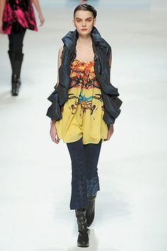 Issey Miyake » Fall 2010 RTW __ really like the pants.  vest is nice too.