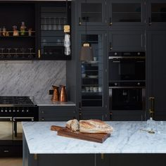 The Butcher's Kitchen is a concept kitchen collection designed by London's Buster+Punch and built by Sweden's Canadaköket. Loft Kitchen, Kitchen Interior, Kitchen Dining, Eclectic Kitchen, Rustic Kitchen, Dining Room, Classic Kitchen, Stylish Kitchen, Small Studio Apartment Design