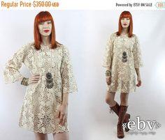 Hippie Wedding Dress Hippie Dress Hippy Dress Boho by shopEBV