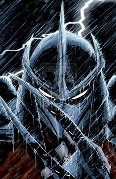 Shredder is one of wolverine's children. Look at the claws. They have the suit to protect them instead of animantium