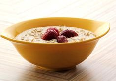 Fruit Porridge - The perfect winter breakfast, this creamy-tasting porridge is topped with great value.