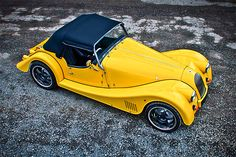 Morgan Electric Plus E, you should certainly hope so. Powered by a 94 hp Zytek engine, the Plus E features a five-speed manual gearbox, a convertible top, a range of 120 miles, a 0-62 mph time of six seconds, and a top speed north of 110 mph.