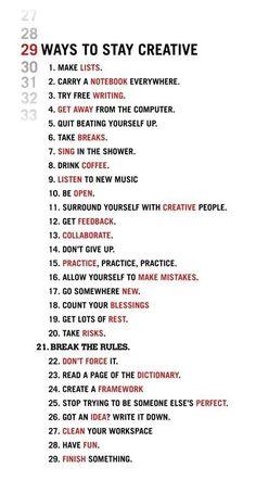 20 manieren om creativiteit te stimuleren