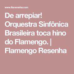 De arrepiar! Orquestra Sinfônica Brasileira toca hino do Flamengo. | Flamengo Resenha