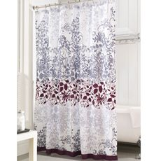 "Enchanted Purple 72"" x 72"" Shower Curtain"