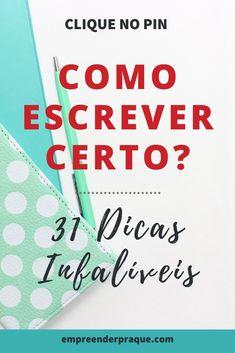 Learn Portuguese, School Study Tips, Study Hard, Blog Love, Study Notes, Writing A Book, Google Drive, Back To School, Digital Marketing