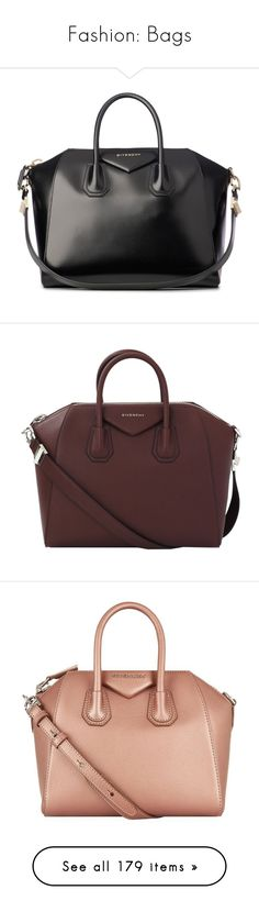 """""""Fashion: Bags"""" by katiasitems on Polyvore featuring bags, handbags, tote bags, givenchy, purses, bolsas, black, leather tote handbags, oversized tote bags and leather tote purse"""