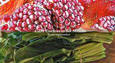 Cocineros del Mundo: Recetas del Reto de Septiembre 2016 - Granadas o Espinacas