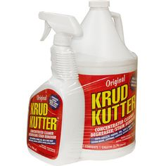 Krud Kutter is a miracle cleaner that will even get dried paint out of your clothes.