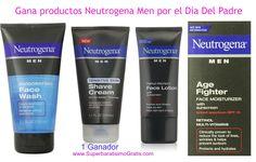 #Sorteo: Gana productos Neutrogena Men por el Día Del Padre #rifa #giveaway http://bit.ly/Neutrogena_Men #fathersday #fathedaygiveaway