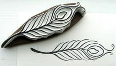 feather stamps - Google Search