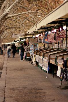 Street market @ Roma, Italy, via Flickr.
