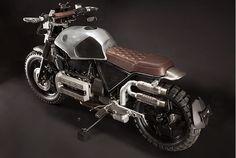 BMW K 100 85 Moto Cafe, Cafe Bike, Bmw Cafe Racer, Cafe Racer Build, Bmw Motorcycles, Custom Motorcycles, Custom Bikes, Tracker Motorcycle, Motorcycle Equipment