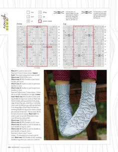 "Photo from album ""Interweave Knits - Winter on Yandex. Crochet Boots, Crochet Scarves, Knit Crochet, Knitting Patterns, Crochet Patterns, Fashion Sewing, Double Knitting, Mitten Gloves, Knitting Socks"