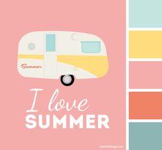 Kleurpalet: I love summer