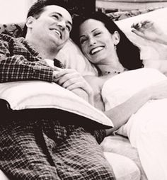 Chandler and Monica &hearts
