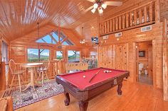1 Bedroom cabins in Pigeon Forge Tennessee