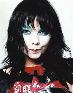 Björk by David Sims 2000.   Loved her back in the day!