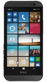 HTC One M8 Windows Phone Front View
