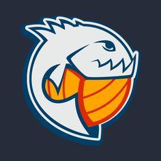 Check out this awesome 'Sport+Piranha+Logo+Design' design on @TeePublic!