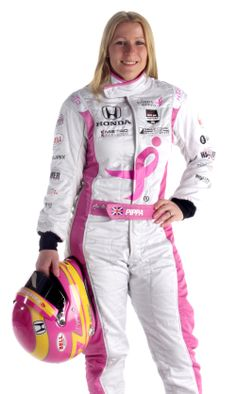 Pippa Mann, the first female in history to win a pole at the Indianapolis Motor Speedway and the second woman to win an Indy Lights race, announced May 2014 that she will proudly race in her brand new pink No. Female Race Car Driver, Car And Driver, Indy Car Racing, Indy Cars, Woman In Car, Amazing Women, Beautiful Women, Marquee Events, Indianapolis Motor Speedway