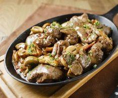 Kuřecí játra na bílém víně Japchae, Beef, Ethnic Recipes, Food, Meat, Essen, Meals, Yemek, Eten