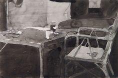 Richard Diebenkorn I Ink drawing Richard Diebenkorn, Robert Motherwell, Cy Twombly, Joan Mitchell, Gerhard Richter, Camille Pissarro, Paul Cezanne, Francis Bacon, Mark Rothko