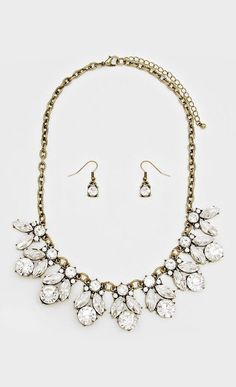 Crystal Delphine Necklace