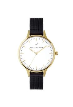 Violet Hamden Nowness Gold Iron Black Iron, Watches, Gold, Black, Wrist Watches, Wristwatches, Black People, Tag Watches, Watch
