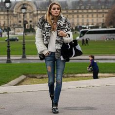 The Olivia Palermo Lookbook : Olivia Palermo in Paris