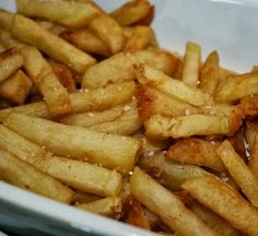 Baked Russet Potato Fries