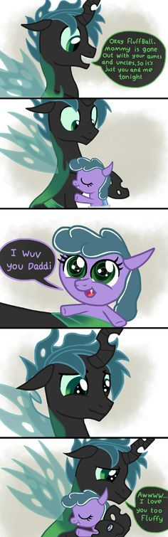 A Caring Daughter xD it's so cute Scewball and Mothball ship xD My Little Pony List, My Little Pony Comic, Mlp My Little Pony, My Little Pony Friendship, Fluttershy, Discord, Queen Chrysalis, Mlp Fan Art, Mlp Comics