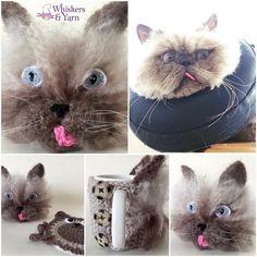 😸😸 Teddy 😸😸 #whiskersandyarn #cupcozy #mughug #coffecozy  #Q8crochet #kuwaitcrochet #kuwait #q8 #kuwaithandmade #everythingkuwait #yarnaddict #crochetaddict #Q8  #q8sale #kuwaiti #q8instagram  #kwt#mugcozy #crochetersofinstagram #instacrochet  #happyhooker #crochetersofinstagram #catsofinstagram  #cupsleeve #crochetcozy ☎️Whatsapp +965 50600946☎️