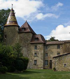 Château de Vallin - St-Victor-de-Cessieu, Isère