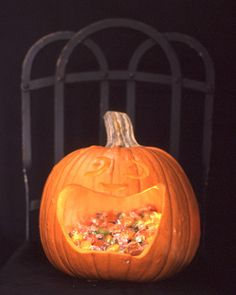 Pumpkin Templates for Halloween: Ravenous Pumpkin