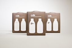 Designer Milk Packaging by Darren Custance