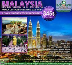Satguru Indonesia - Travel Management Company, 10 : Hello travelers, mau liburan ke Malaysia bersama kami  mengunjungi beberapa lokasi wisata menarik dan indah dengan harga terjangkau dan kenyamanan bersama keluarga? Ikuti kesempatan terbatas ini. 👉Hubungi kami dan pesan sekarang juga! *harga sewaktu-waktu bisa berubah. -------------------------- 💳Dapatkan diskon dan promo khusus lainnya di bulan ini. -------------------------- 🏠Hubungi kami atau kunjungi: 📍Kuningan City - Level 2 / 18…