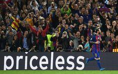 #Hatric 💪👏 #Messi ❤ congratulations #Barca 🎉 Barca vs Mc