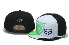Fox Snapback Hop Hip Hats Black White 021