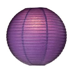 Paper Bellflower Lantern in Purple   Candles and Lighting   Afloral.com