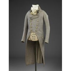 Coat Place of origin: England, Great Britain (made) Date: 1790 (made) Artist/Maker: unknown (production) Materials and Techniques: Wool | V&A Search the Collections