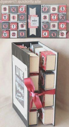 Matchbox-Kalender Advent, – - New Deko Sites Advent Calendar For Men, Homemade Advent Calendars, Diy Calendar, Beauty Calendar, 2019 Calendar, Diy Gifts Cheap, Diy Gifts For Him, Easy Diy Gifts, Quotes Valentines Day