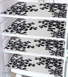 Others Trendy Fridge Covers Material: PVC Pack: Pack of 2 Product Length: 17.5 Inch Product Breadth: 11.5 Inch Country of Origin: India Sizes Available: Free Size   Catalog Rating: ★4 (858)  Catalog Name: Unique Fridge Mats CatalogID_1130854 C84-SC1281 Code: 461-7085756-