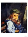 Boy With Green Cap (Chico), 1922  The Ashcan School