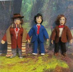 My Dollhouse, TARDIS, 4th, 10th and 11th