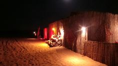 Spend the night in the desert of Dubai