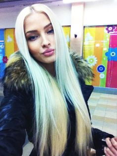 Image about model in alena shishkova, my idol ♥ by Enisa Perfect Blonde Hair, Ash Blonde Hair, Weave Hairstyles, Straight Hairstyles, Cool Hairstyles, Alena Shishkova, Synthetic Lace Front Wigs, Love Hair, Human Hair Wigs