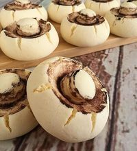 Pratik Mantar Kurabiye – Tatlı tarifleri – The Most Practical and Easy Recipes Köstliche Desserts, Delicious Desserts, Dessert Recipes, Yummy Food, Gateaux Cake, Sweet Pastries, Food Platters, Arabic Food, Turkish Recipes