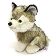 Simulating Stuffed Dog Toys: Lovely Husky Dog Plush Toy for Kids 15cm